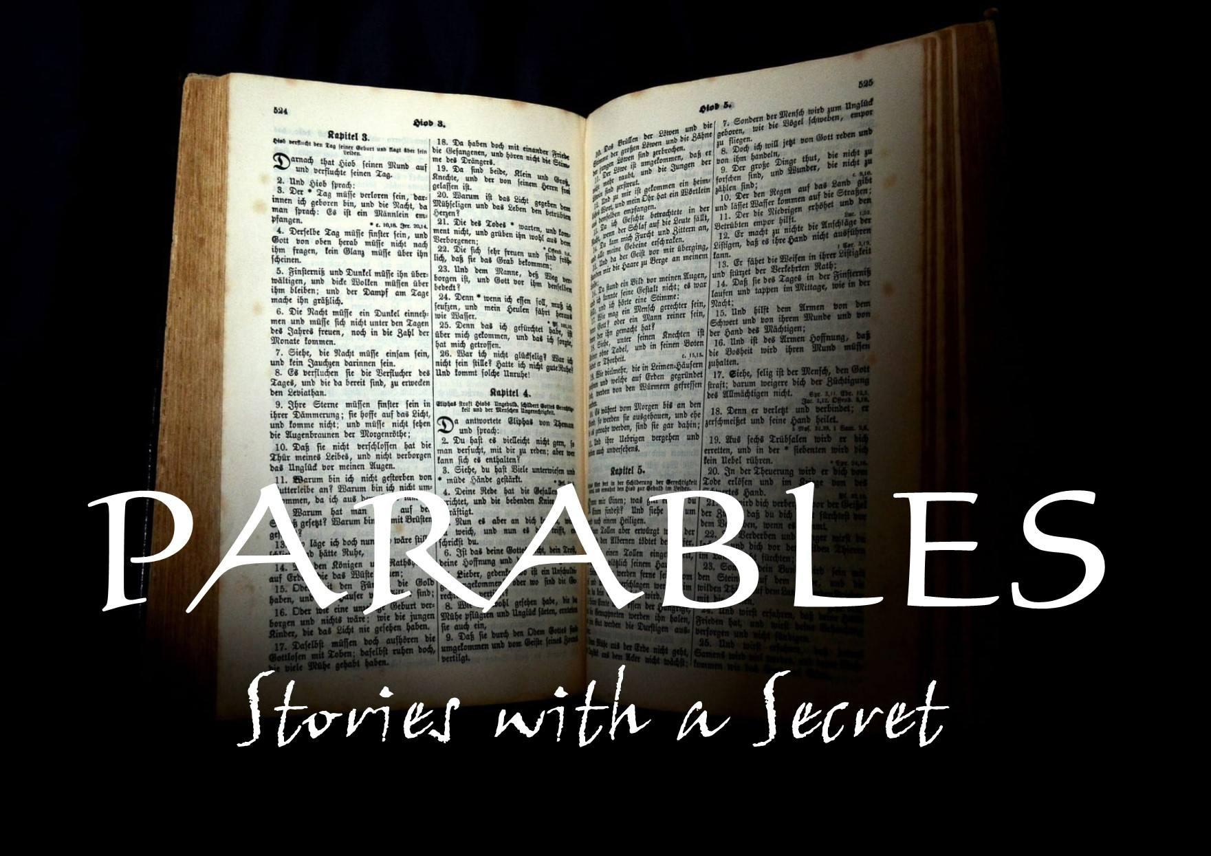 Parables-Stories with a Secret