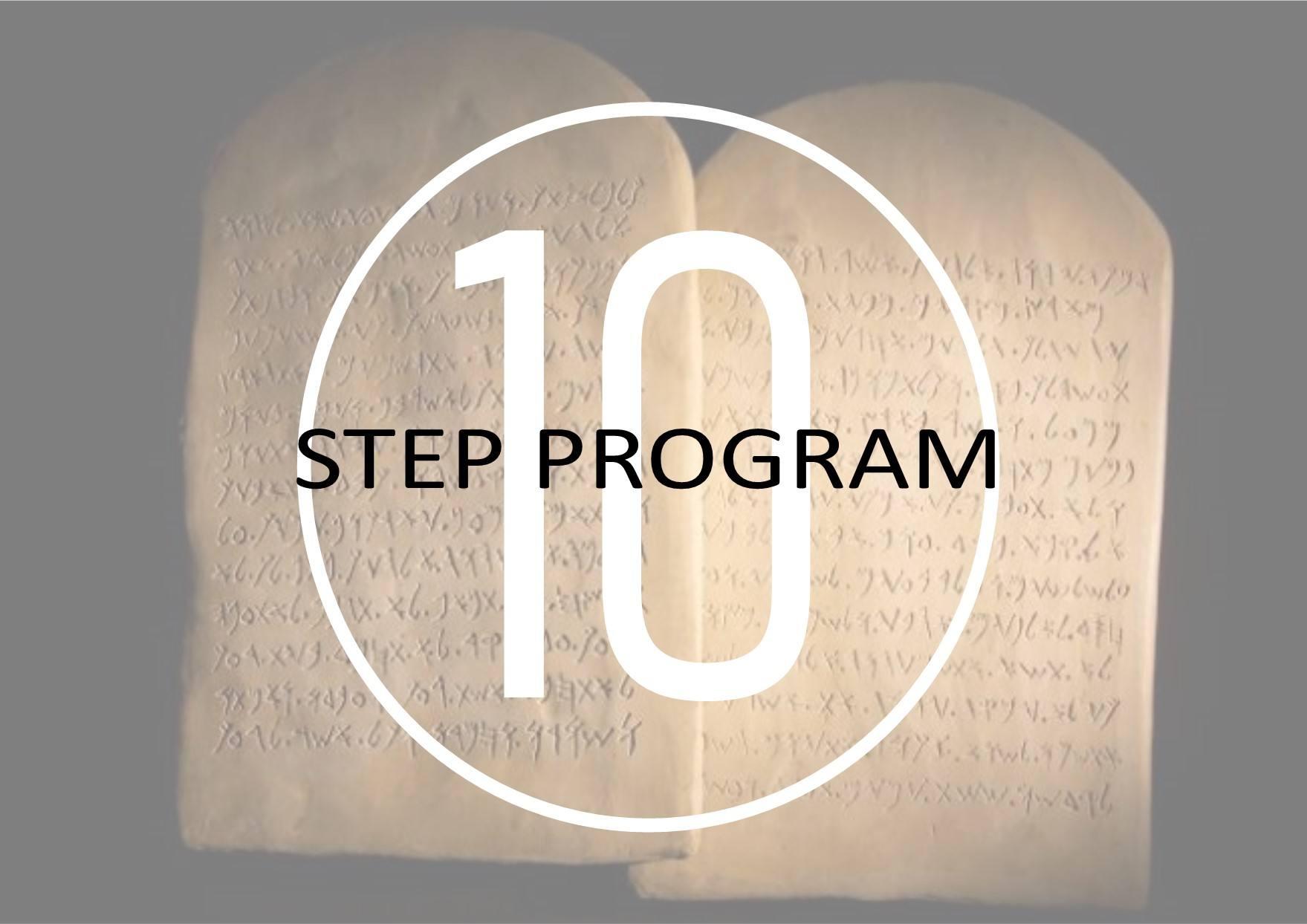 10 Step Program